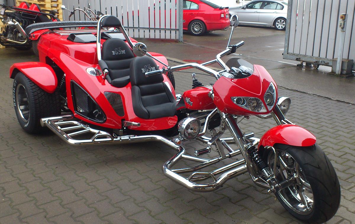 Mustang Thunderbird R-Trikes günstig mieten